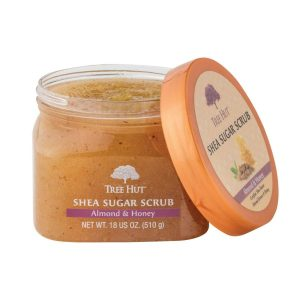 exfoliant almond honey